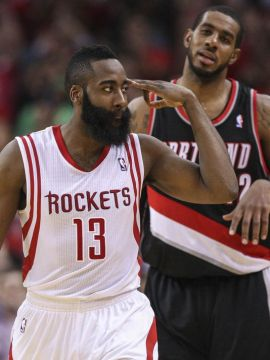 Rockets vs trailblazers