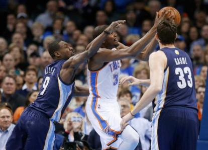Thunder-Grizzlies