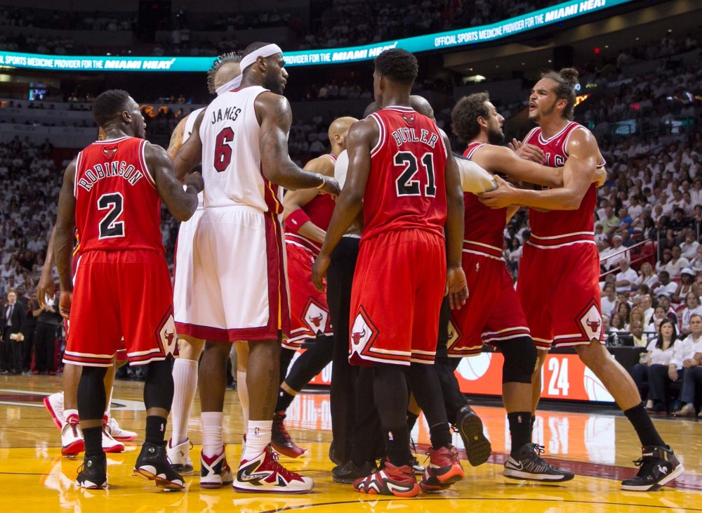 Chicago Bulls vs Miami Heat Round 2 Game 2